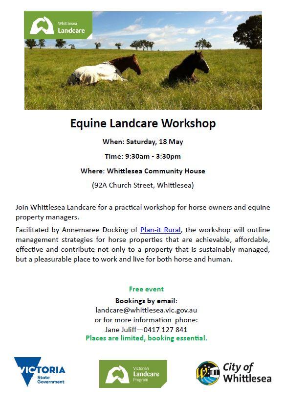 Equine Landcare Flyer