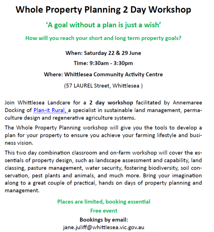 WholeFarmPlanningWorkshop